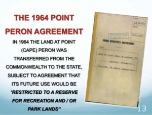 The 1964 Point Peron agreement