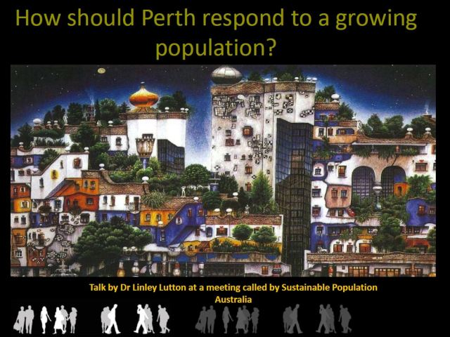 How should Perth respond to a growing population.