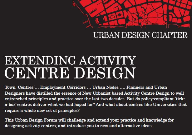 Extending Activity Centre Design top image