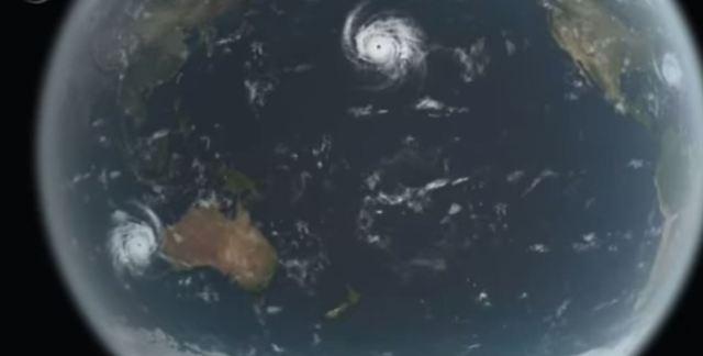 Cyclone over WA