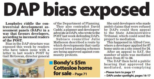 DAP bias exposed Post 150815 p1