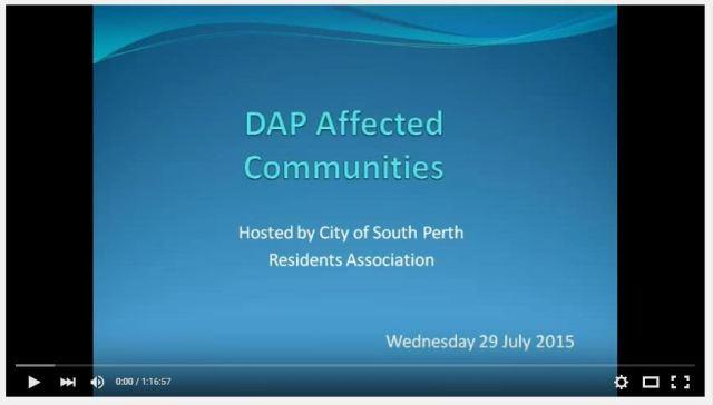 DAP meeting video image