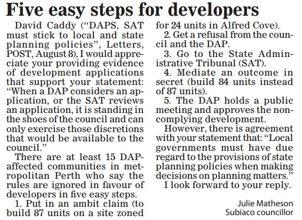 Five easy steps for developers Julie Matherson Post 150815 p24