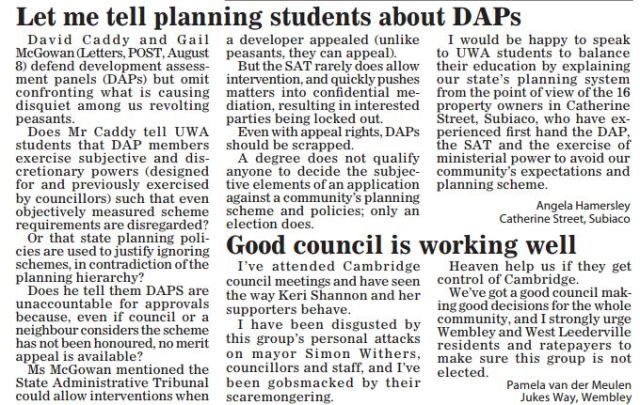 Let me tell planning students about DAPs Post 150815